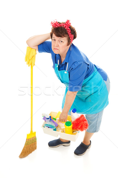 Housework is Drudgery Stock photo © lisafx