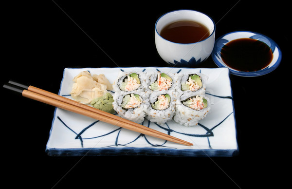 Complete Japanese Sushi Stock photo © lisafx