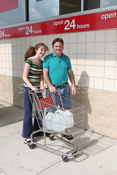 Hurricane Preparedness - Shopping Stock photo © lisafx