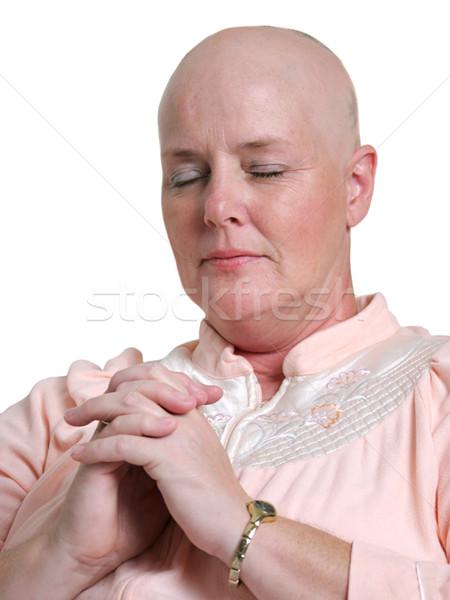 Praying for Health Stock photo © lisafx