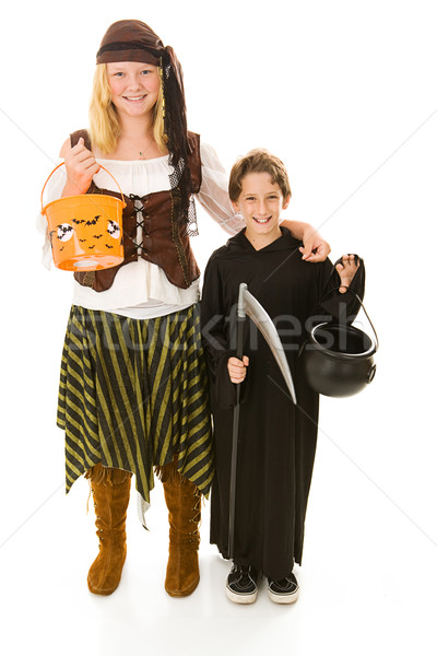 Ready to Trick or Treat Stock photo © lisafx