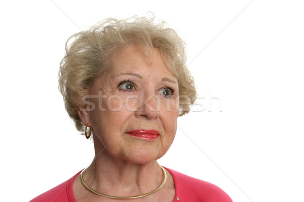 Senior Woman Faces Uncertain Future Stock photo © lisafx