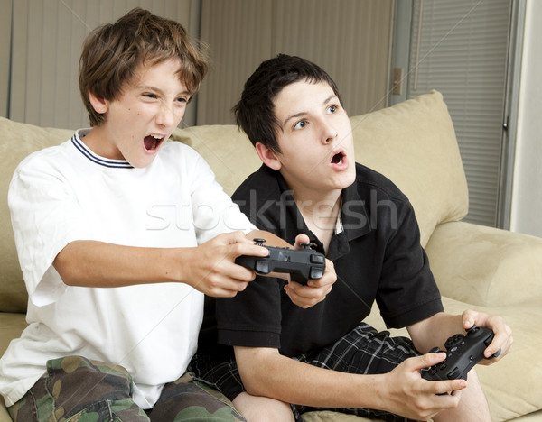 Video Games - Winning Stock photo © lisafx