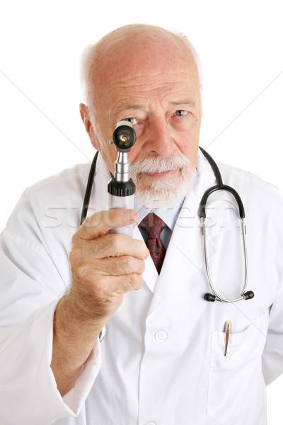 Doctor - Under Scrutiny Stock photo © lisafx