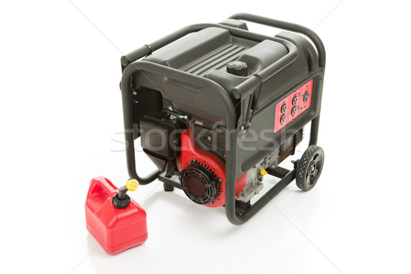 Emergency Generator and Gas Can Stock photo © lisafx