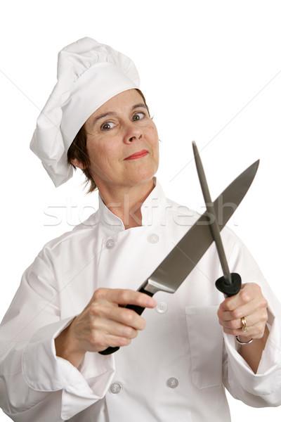 Homicidal Chef Stock photo © lisafx