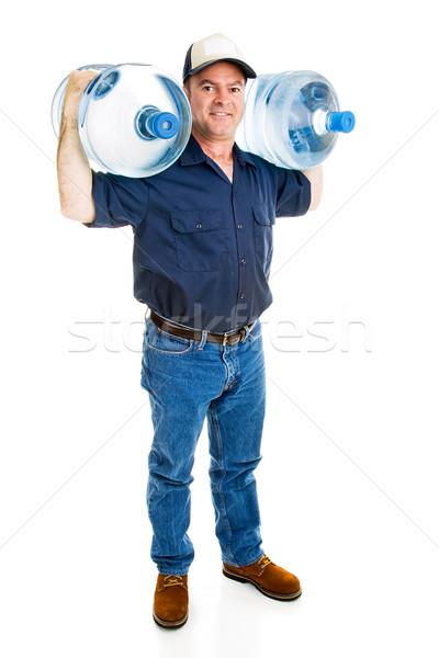 Fuerte agua mensajero dos completo Foto stock © lisafx