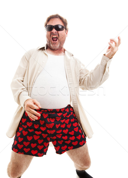 Air Guitar in Underwear Stock photo © lisafx