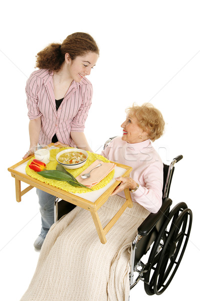 Stock photo: Home Meal Delivery