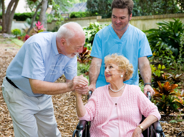 Nursing Home Visit Stock photo © lisafx
