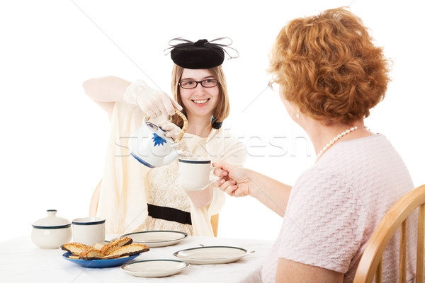 Mothers Day Tea For Mom Stock photo © lisafx