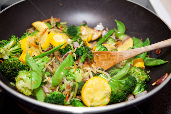 Healthy Vegetable Stir Fry Stock photo © lisafx