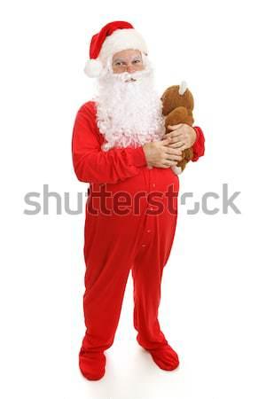 Bedtime Santa Claus Stock photo © lisafx
