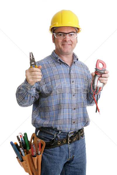 Electricians Tools Stock photo © lisafx