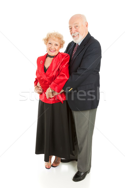 Loving Seniors Dancing Stock photo © lisafx