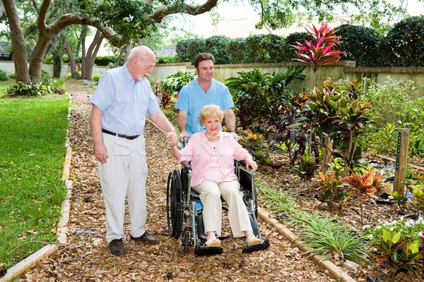 Nursing Home Gardens Stock photo © lisafx