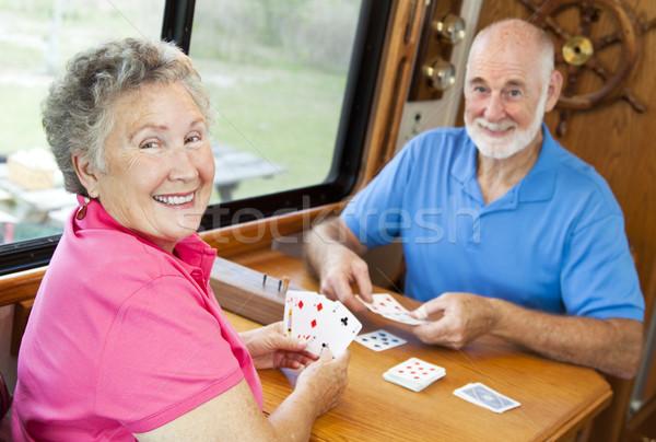 RV Seniors - Playing Cards Stock photo © lisafx