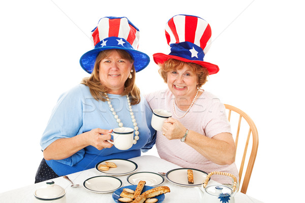 Stock Photo of Tea Party Conservatives Stock photo © lisafx