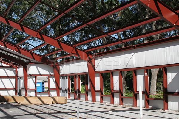 Steel Frame Building Stock photo © lisafx