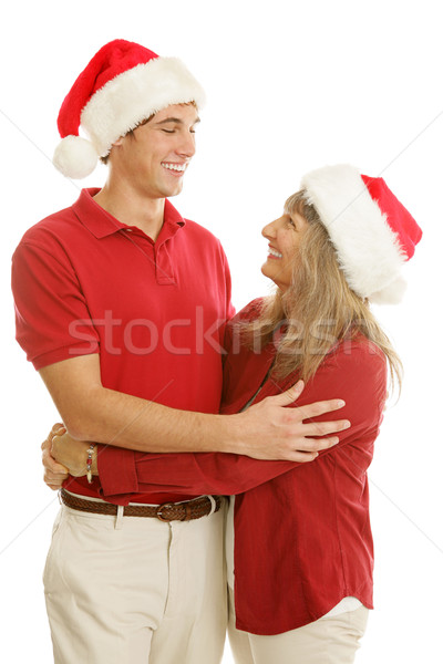 Warm Christmas Greetings Stock photo © lisafx
