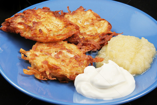 Traditional Chanukah Potato Latkes  Stock photo © lisafx