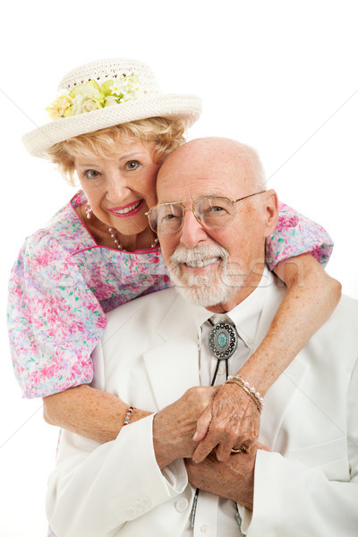 Stock photo: Portrait of Southern Senior Couple