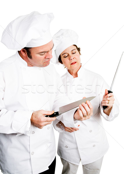 Chefs - Quality Knives Stock photo © lisafx