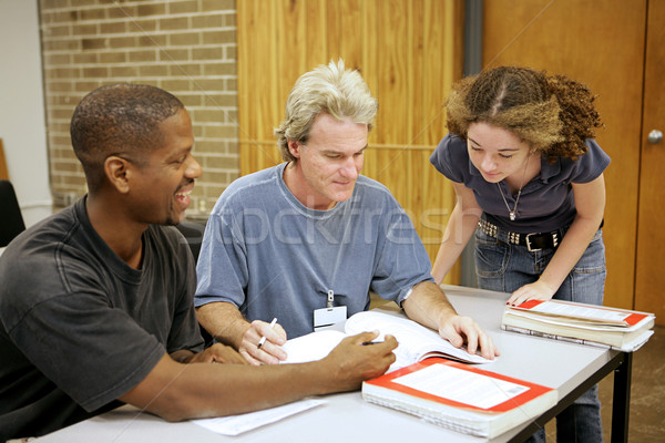 Adult Ed - Diversity Stock photo © lisafx