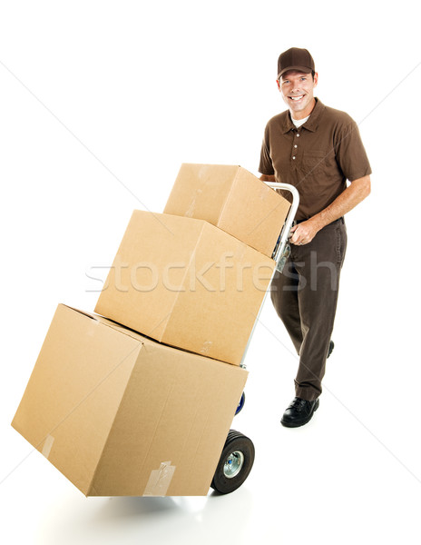 Stock photo: Delivering For You