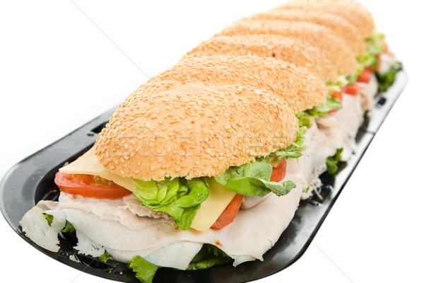 Three Foot Turkey Sandwich Stock photo © lisafx