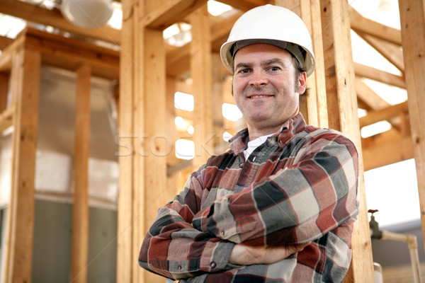 Authentic Construction Worker Stock photo © lisafx