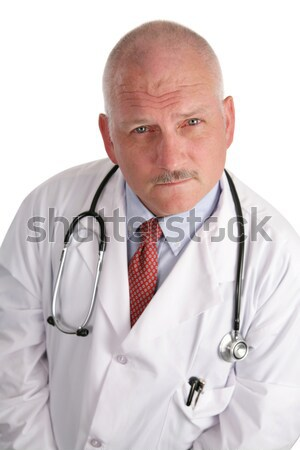 Doctor - Maturity & Wisdom Stock photo © lisafx
