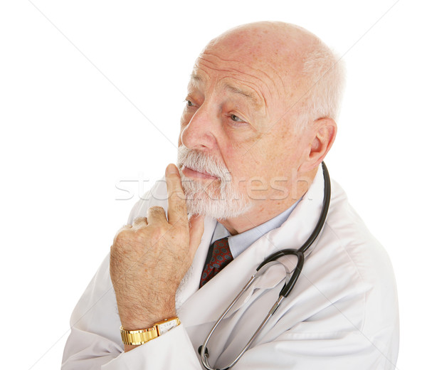 Doctor - Thinks it Over Stock photo © lisafx
