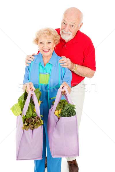 Environmentally Aware Seniors Stock photo © lisafx