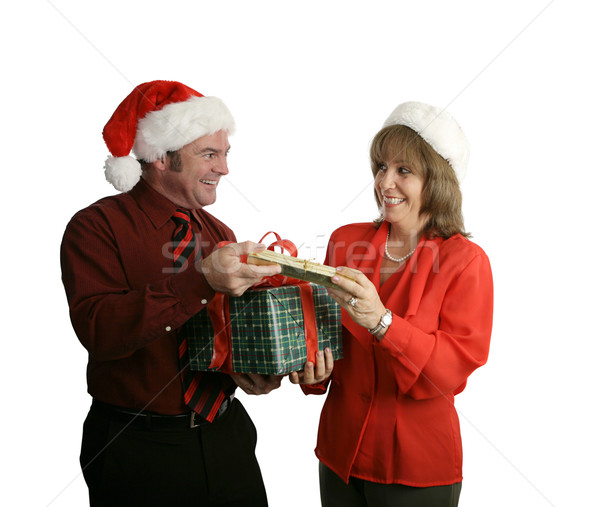 Exchanging Gifts Stock photo © lisafx