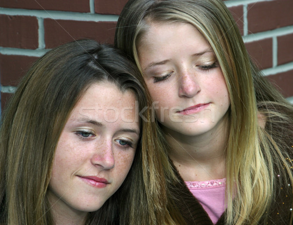 Sad Sisters Stock photo © lisafx