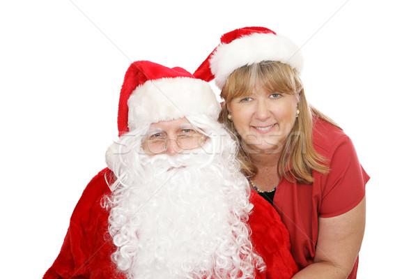 Santa & Mrs Claus Stock photo © lisafx