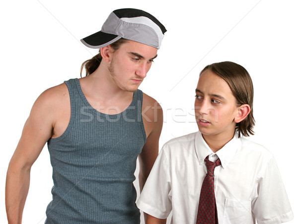 School Bully Intimidation Stock photo © lisafx
