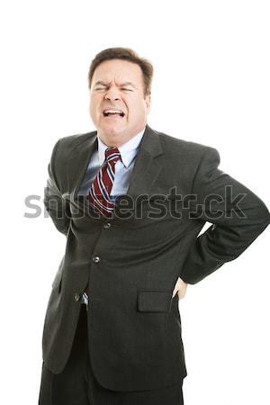 Businessman with Backache Stock photo © lisafx