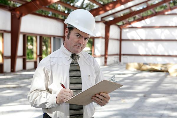 Construction Inspector - Suspicious Stock photo © lisafx