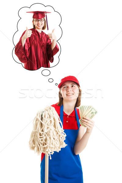 Saving Money For College Stock photo © lisafx