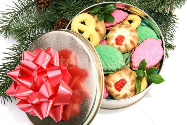 Christmas Cookie Gift Stock photo © lisafx
