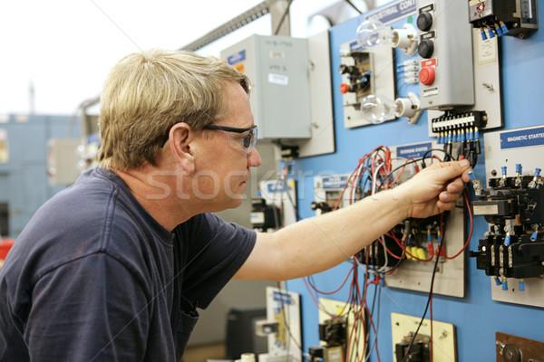 Demonstrating Motor Control Stock photo © lisafx
