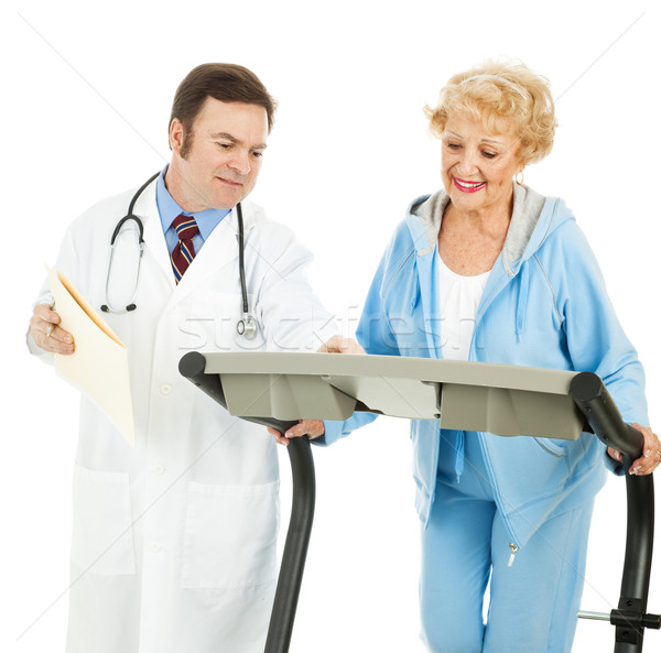 Doctor Supervised Exercise  Stock photo © lisafx