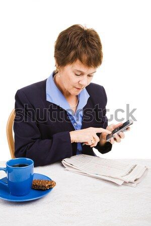 Job Hunting - Cold Call Stock photo © lisafx