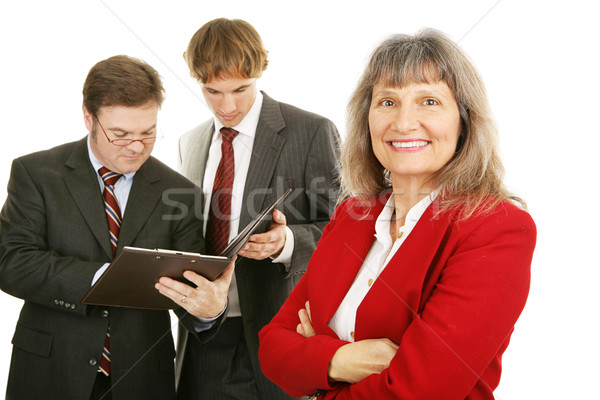 Mature Female Business Leader Stock photo © lisafx
