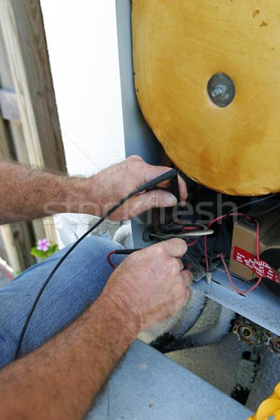 AC Voltage Test Closeup Stock photo © lisafx