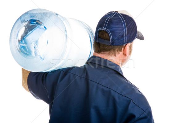 воды доставки вид сзади пять галлон Сток-фото © lisafx