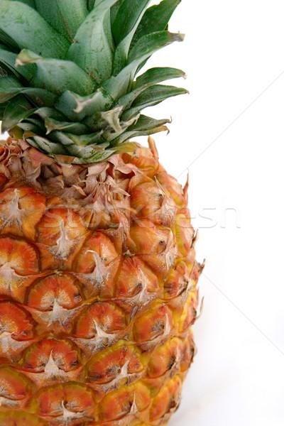 Pineapple on White 3 Stock photo © lisafx
