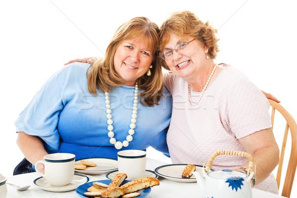 Best Friends Tea Party Stock photo © lisafx
